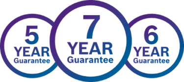 up to 12 years guarantee on new boilers